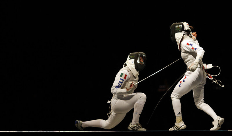 Women's Olympic Fencing