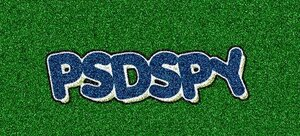 Text on Turf