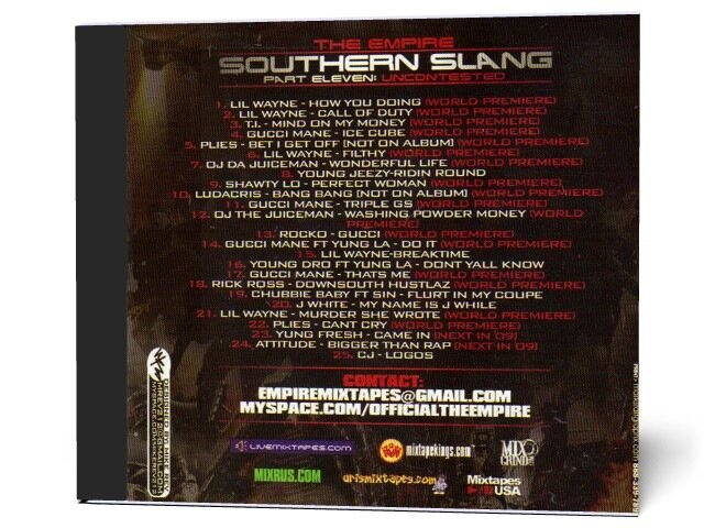 The Empire - Southern Slang (Part Eleven. Uncontested) (2009)