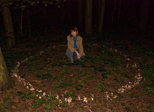 Какие следы оставляют в лесу ведьмы?