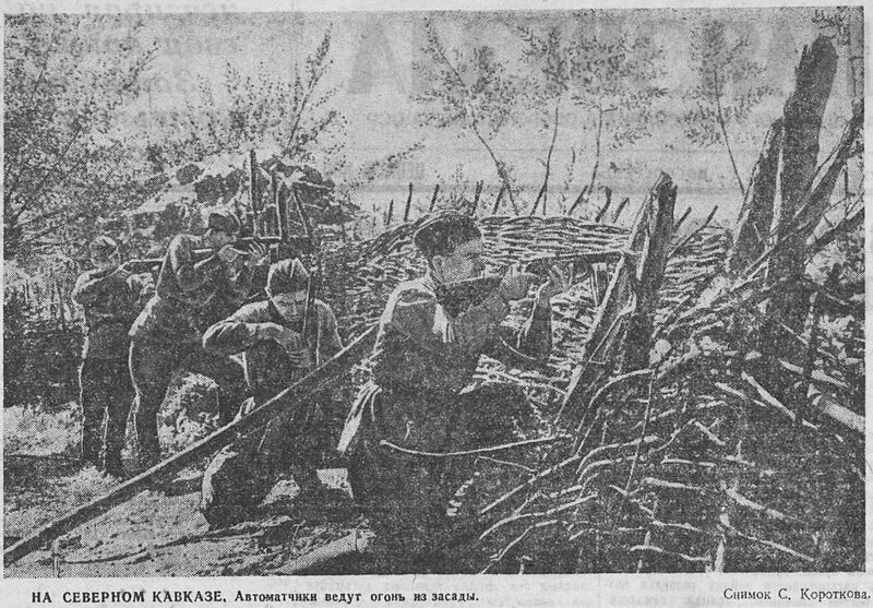 битва за Кавказ, «Красная звезда», 25 октября 1942 года