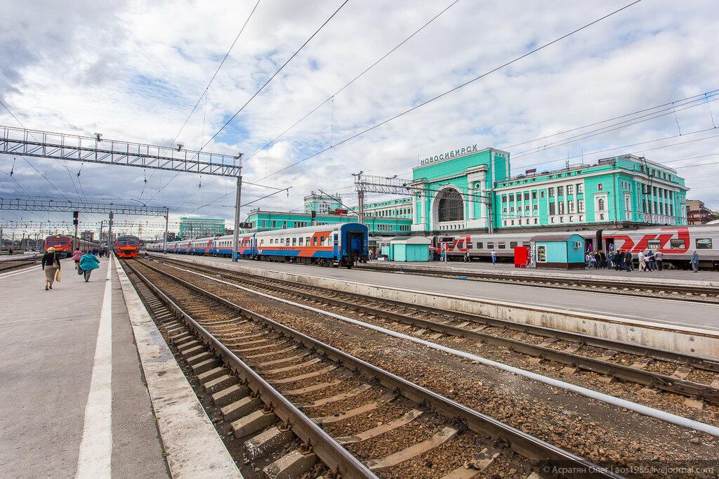 Схема проезда из Новосибирска