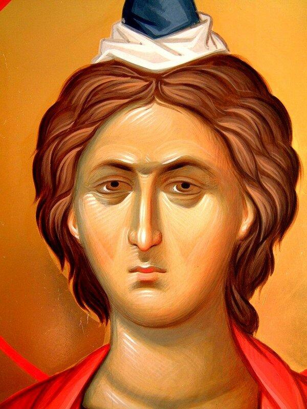 Святой Пророк Даниил. Иконописец Александр Рудой.