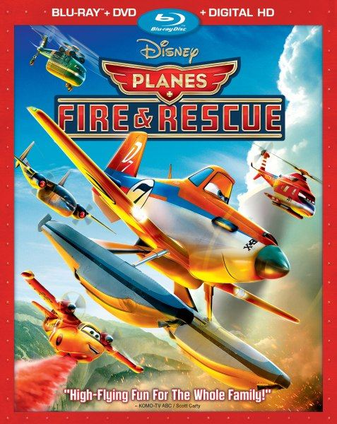 Самолеты: Огонь и вода / Planes: Fire and Rescue (2014) BD-Remux + BDRip 1080p + 720p + HDRip