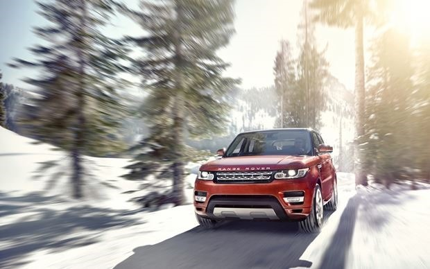 Фотографии Range Rover Sport 2014 года