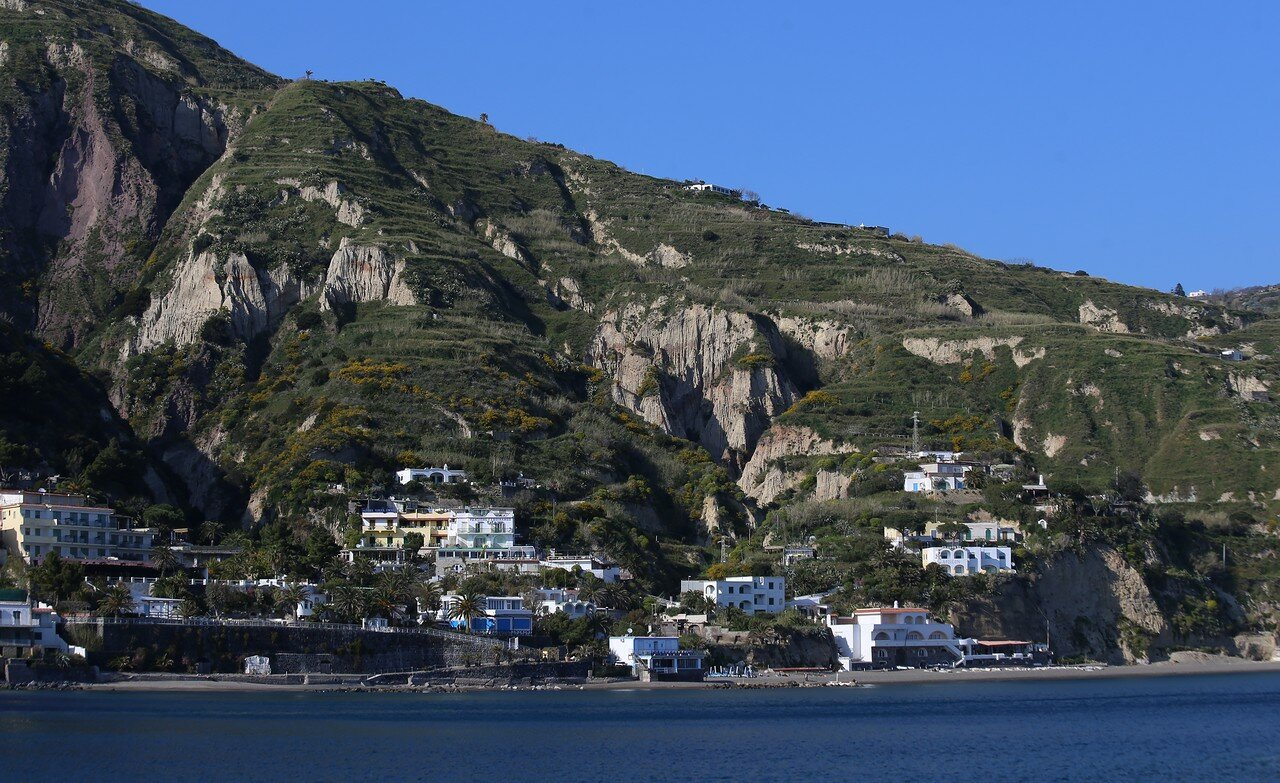 Ischia. The harbour of Sant'angelo