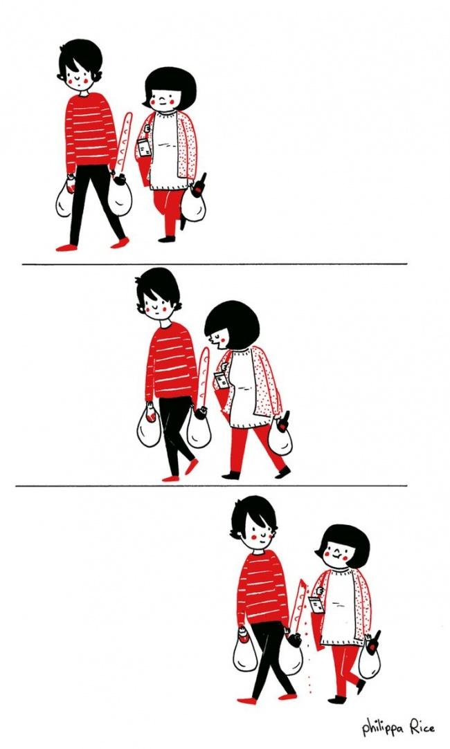 Бросить все свои дела, чтобы просто обняться.
