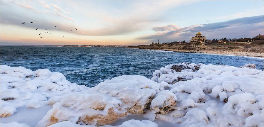 Замерзающее Черное море / Frozen Black Sea