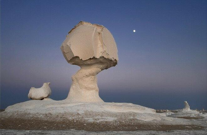 Белая пустыня. Египет