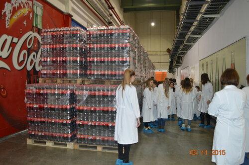 Экскурсия на завод кока колы