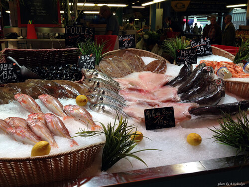 Рынок в Бордо