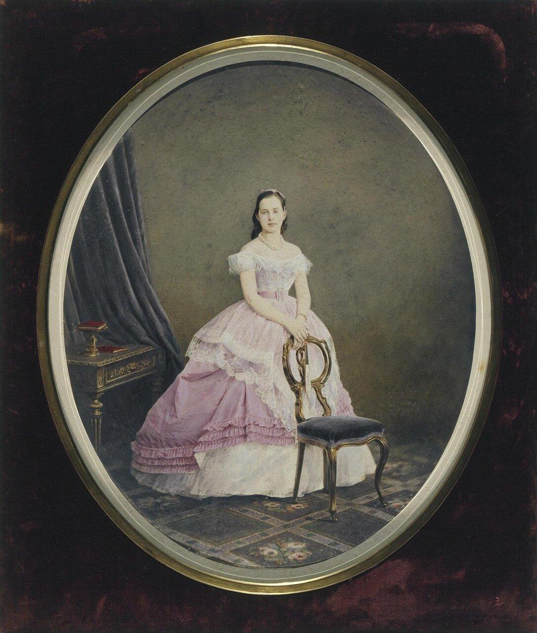 Портрет великой княгини Ольги Константиновны. 1867