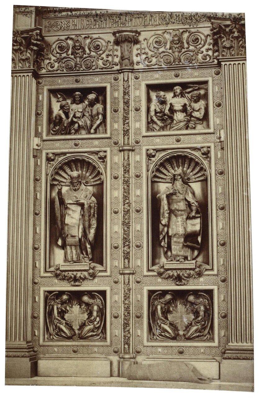 Портал Исаакиевского собора. 1860