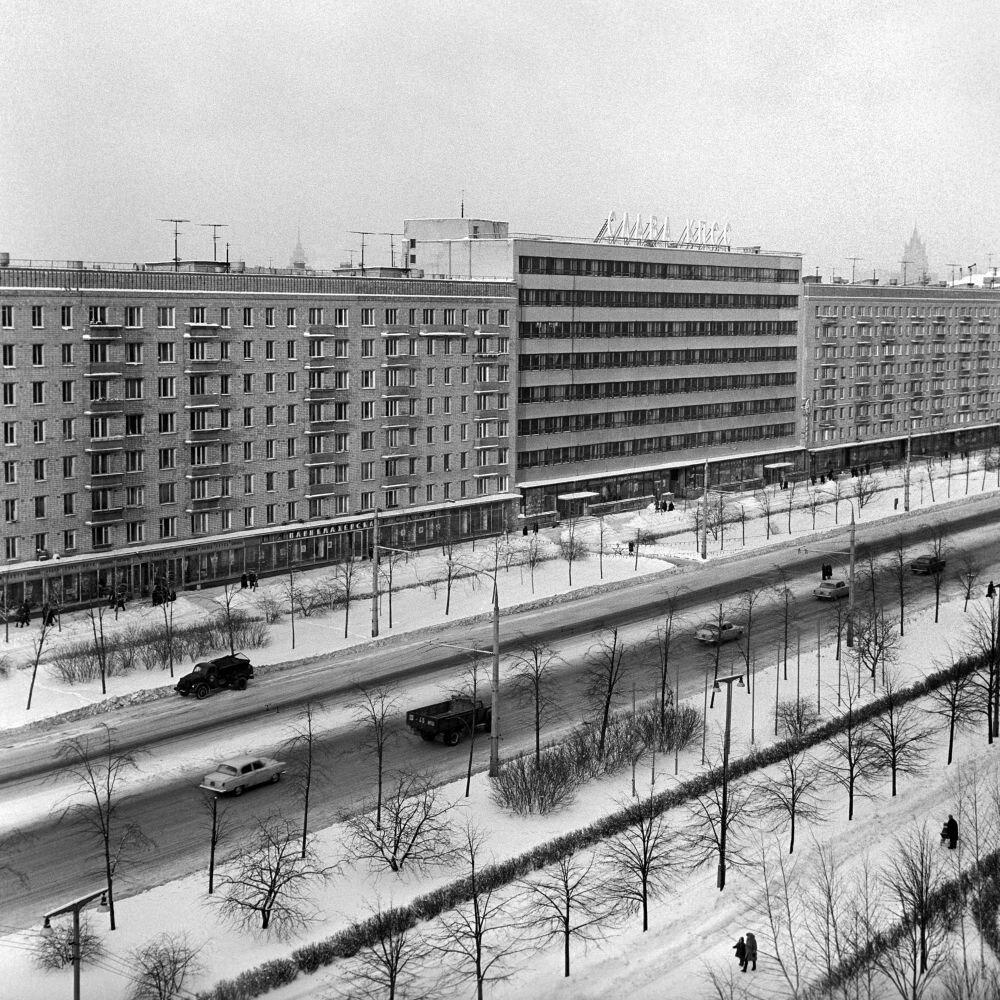 1967. Комсомольский проспект в Москве