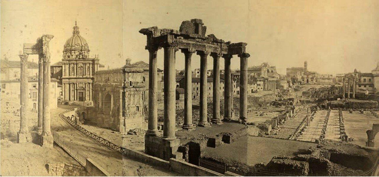 Панорама Форума. 1883