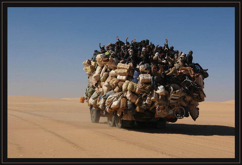 пустынный караван