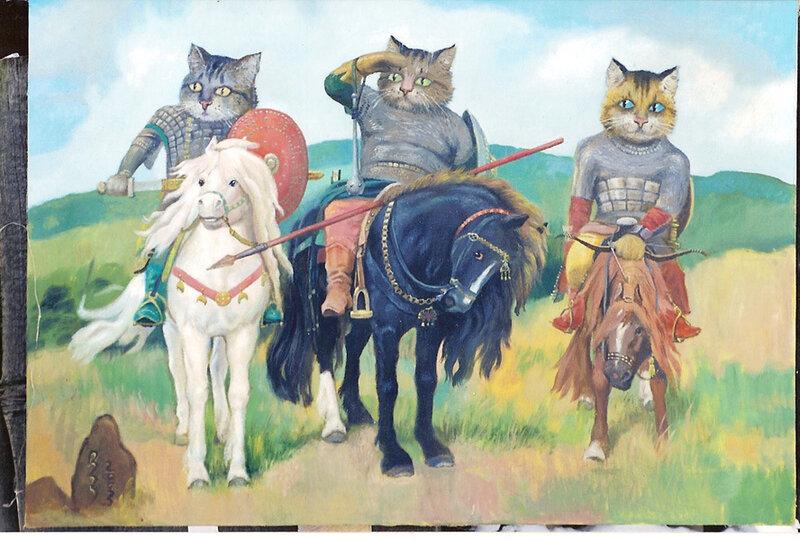 Ser-bolshagin три богатыря