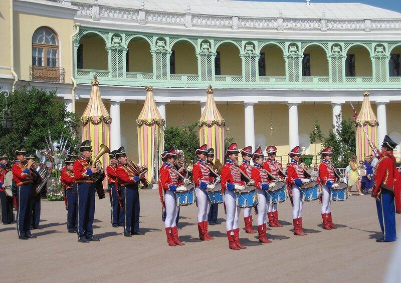 Оркестр в Павловске