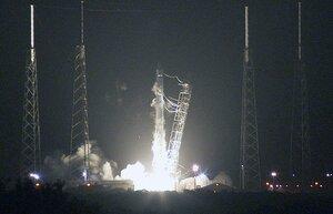 Впервые туркменский спутник был выведен на орбиту