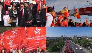 Протесты ПСРМ и «Нашей партии» собрали более 120 000 человек