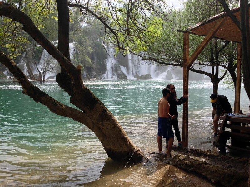 водопад Кравице в Боснии и Герцегвочине