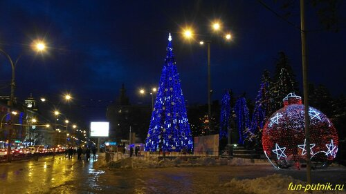 Ростов новогодний