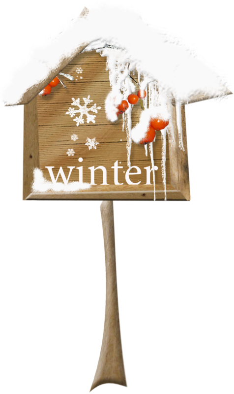MRD_FrostyFriends_wooden winter mailbox.png