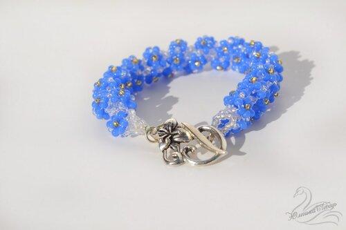 Браслет голубые цветы3.JPG