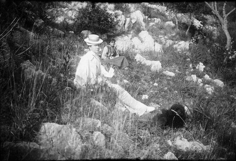 Королева Виктория на Капри, 1900