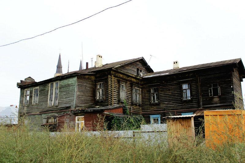 Дом А.М. Савостьянова. 30 октября 2015 года