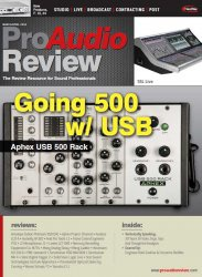 Журнал ProAudio Review - March/April 2014