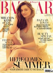 Журнал Harper's Bazaar June 2014 UK