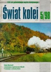 Журнал Swiat kolei 1998-05