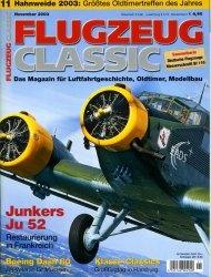 Журнал Flugzeug Classic №11, 2003