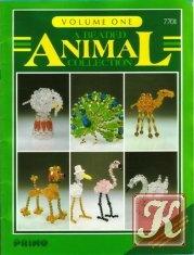 Книга A beaded animal collection volume one №7701 1984