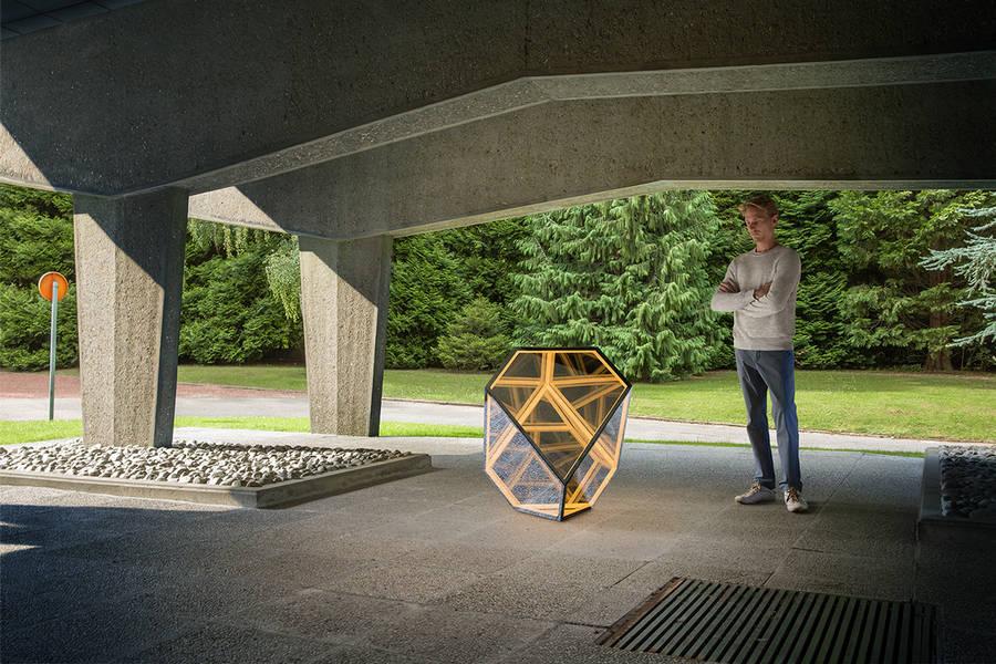 Interactive Polyhedron Installation