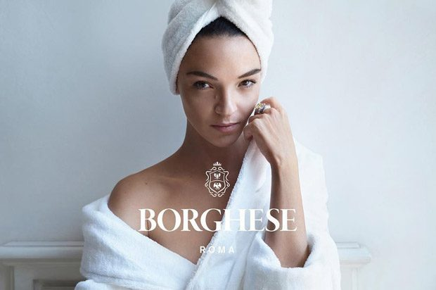Supermodel Mariacarla Boscono is the Face of Borghese Beauty