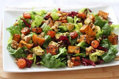 Овощные салаты на каждый день и праздники