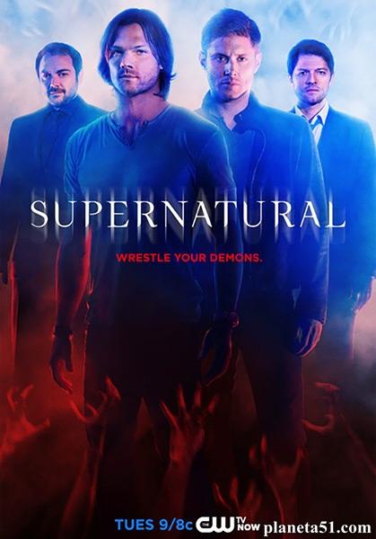 Сверхъестественное / Supernatural - Сезон 10, Серии 1-8 (23) [2014, WEB-DLRip   WEB-DL 1080p] (LostFilm   NovaFilm)