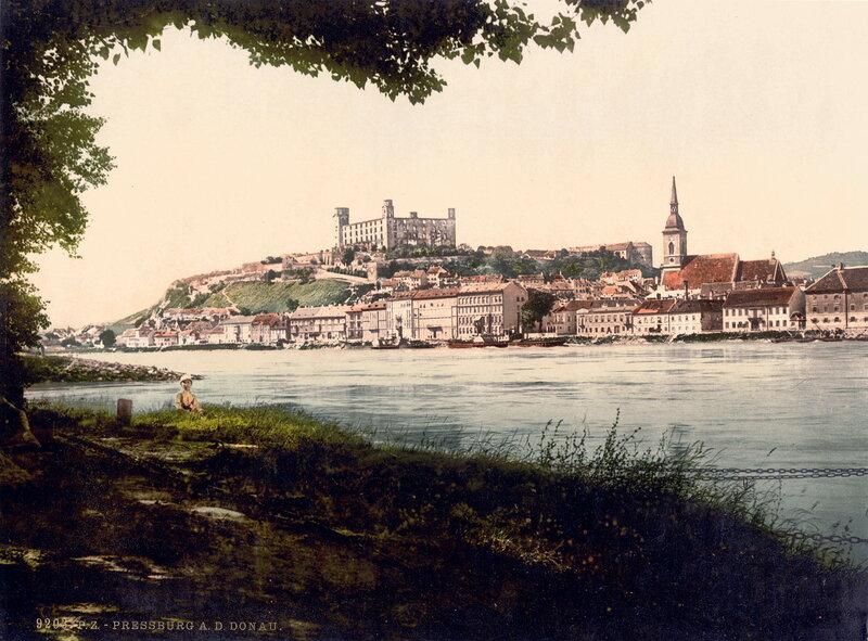 Прессбург / Пожонь примерно в 1900 году