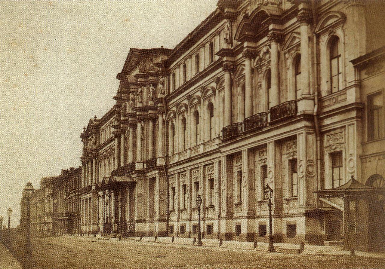 Дворец на Дворцовой набережной.1880-е