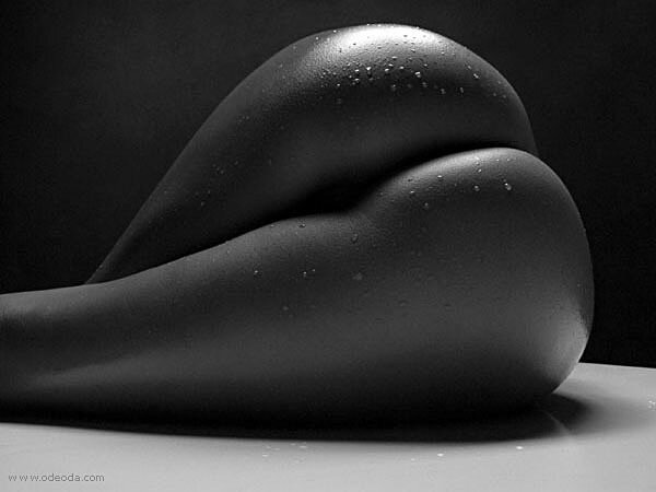 черно-белые качественные фото женских задниц