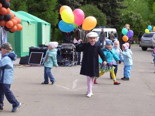 Танец с шариками