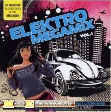 Elektro Megamix Vol.1 - 2CD (2008)