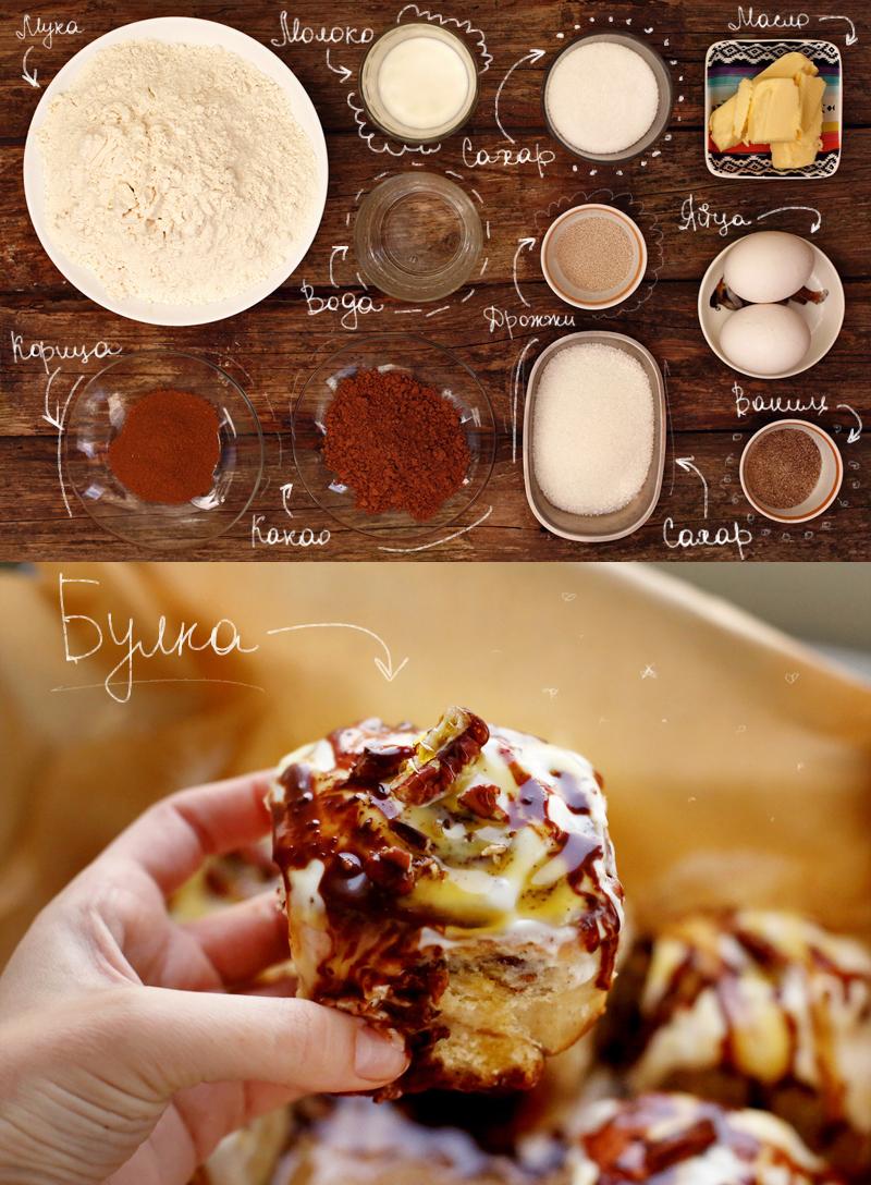 Булочки с корицей - пошаговый рецепт с фото #2.