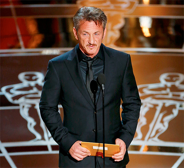 Шон Пенн неудачно пошутил на «Оскаре»