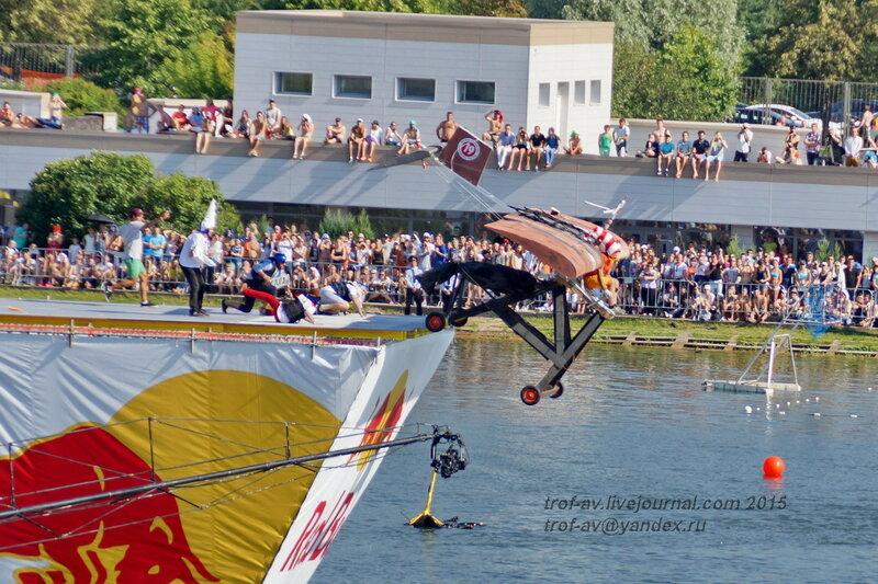 Команда Бреющий полет!, Фестиваль Red Bull Flugtag 2015, Москва