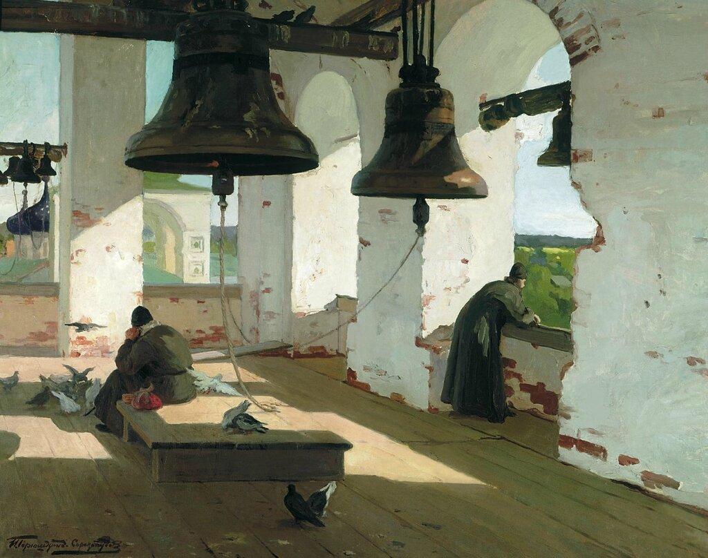 Горюшкин-Сорокопудов Иван (1873-1954): Из прошлого. Холст, масло
