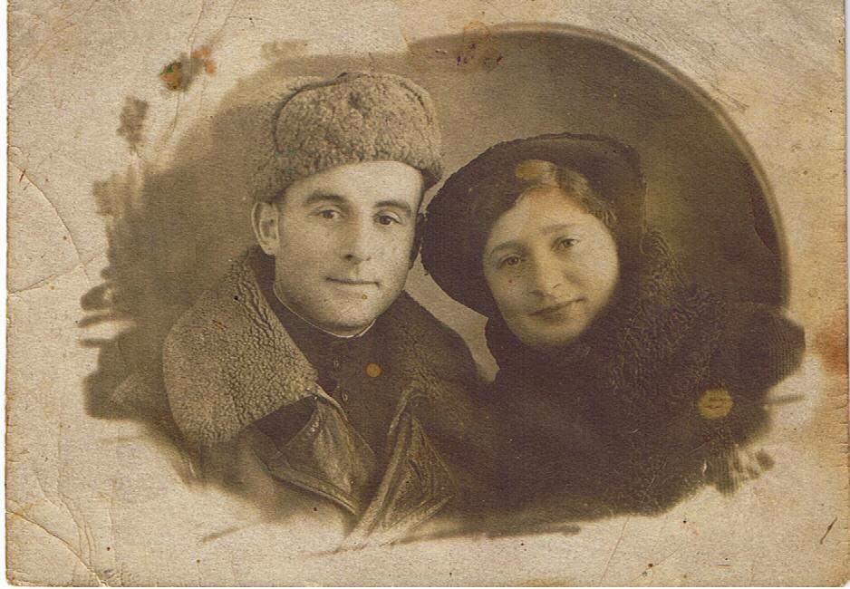 Дядя Боря Рабин, брат бабушки.JPG
