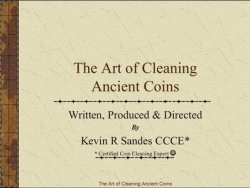 Книга The Art of Cleaning Ancient Coins